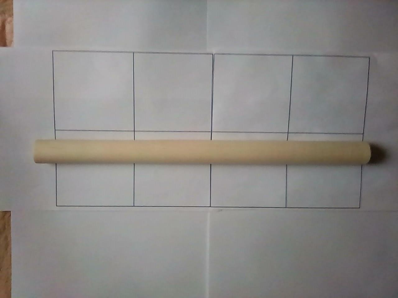Скалка татарская (сосна,береза) L=44см