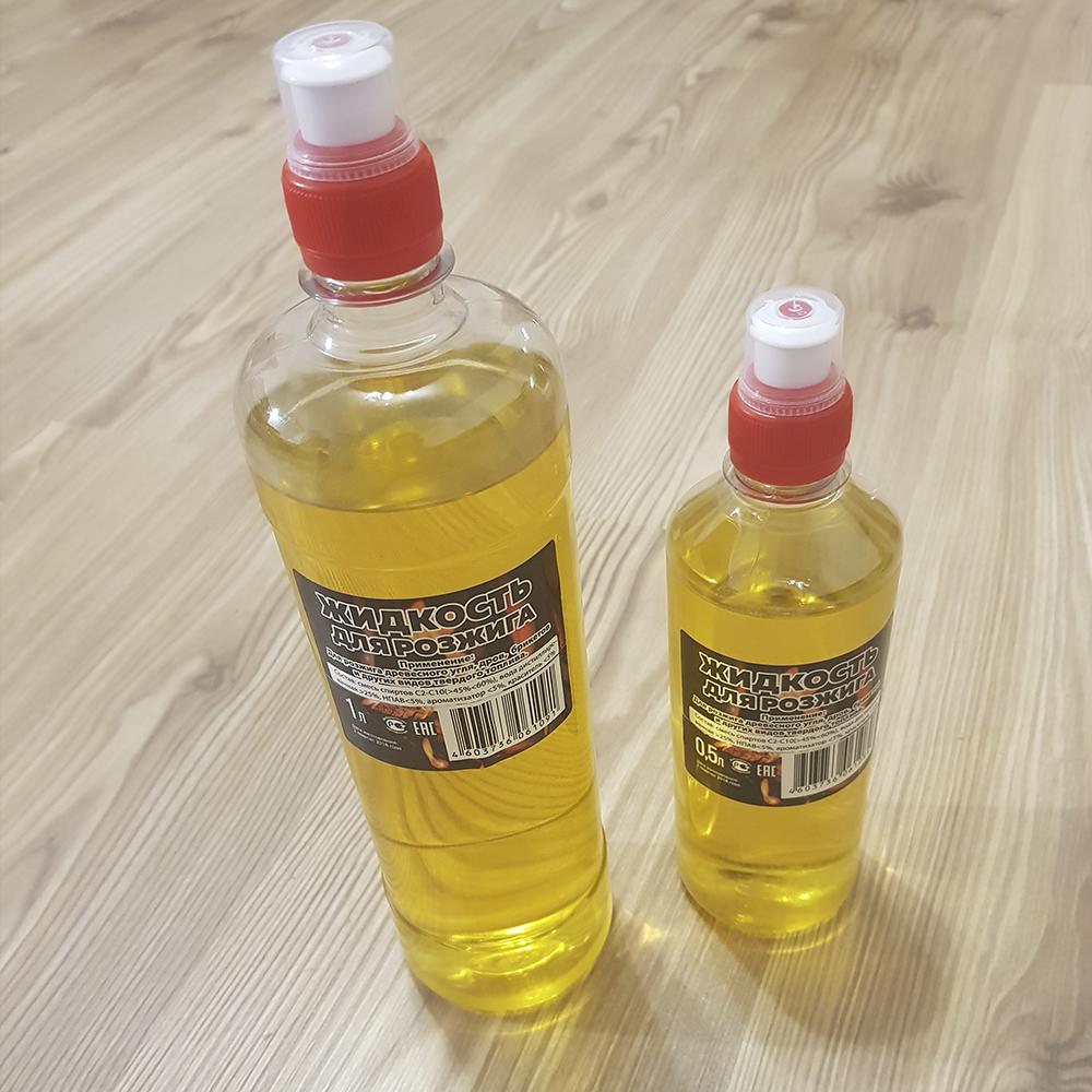 жидкость для розжига  (не содержит метанол!)